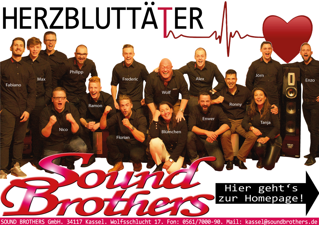 SOUND BROTHERS Kassel, Göttingen & Berlin