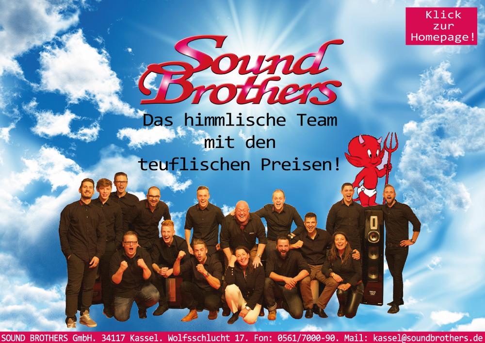 SOUND BROTHERS Kassel, Göttingen & Berlin