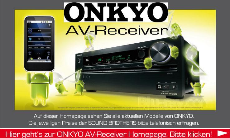 AV-Receiver der Firma ONKYO