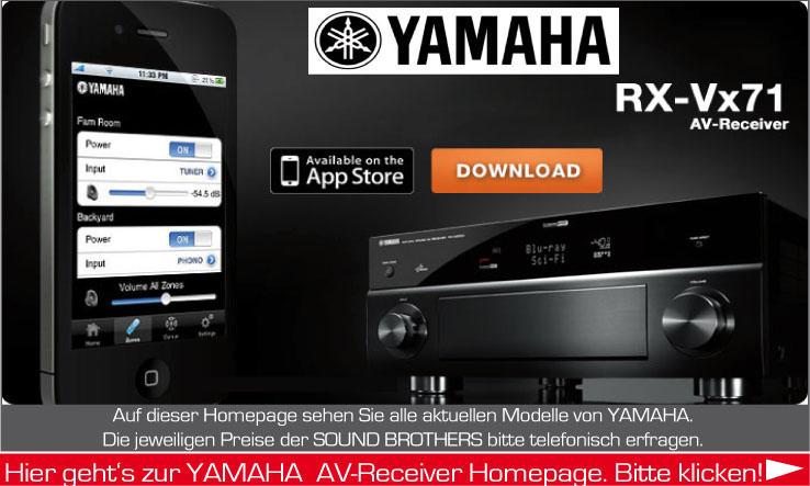 AV-Receiver der Firma Yamaha