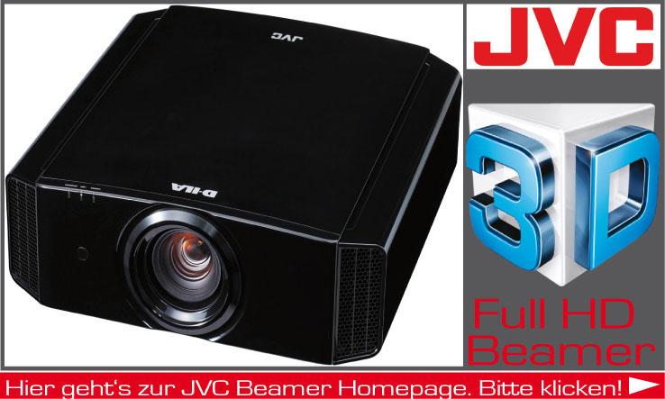 Beamer der Firma JVC