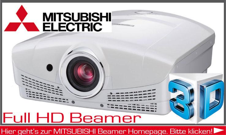Beamer der Firma Mitsubishi