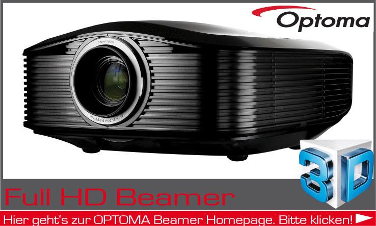 Beamer der Firma Optoma