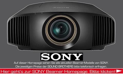 Beamer der Firma Sony