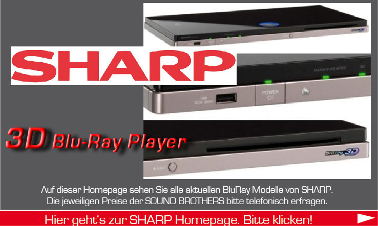BluRay-Player der Firma Sharp