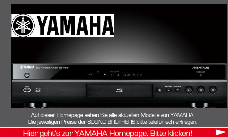 BluRay-Player der Firma Yamaha