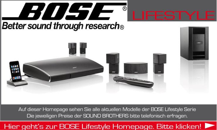 Home Cinema Produkte der Firma BOSE