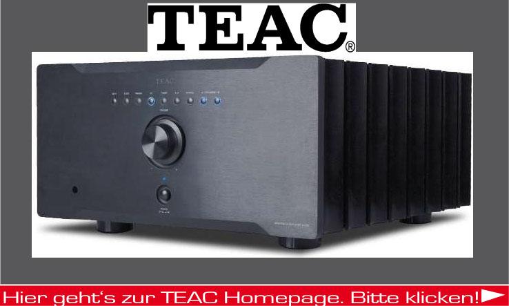 Hifi Produkte der Firma TEAC