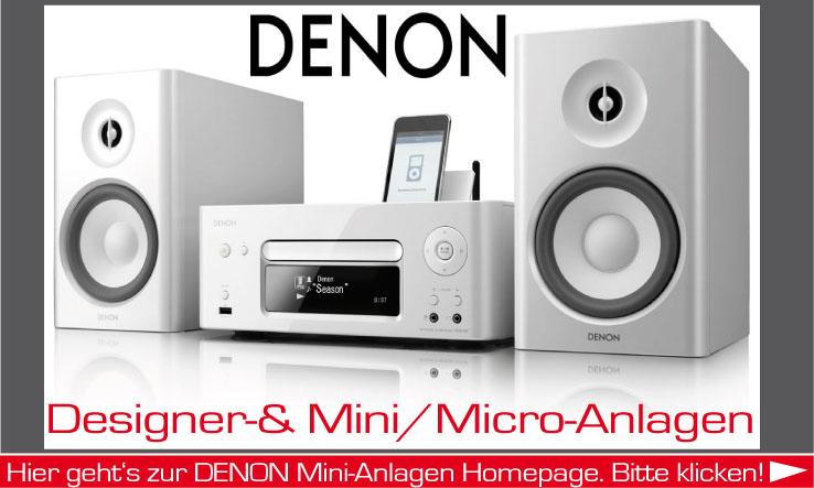 Mini-Anlagen der Firma Denon