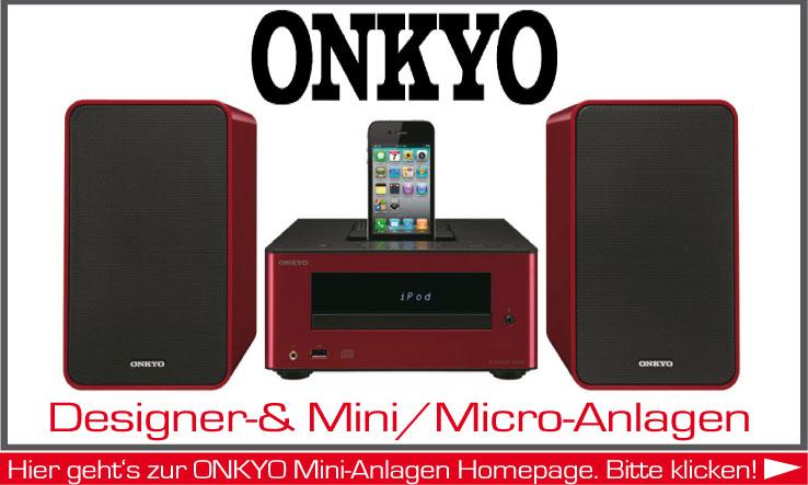 Mini-Anlagen der Firma Onkyo