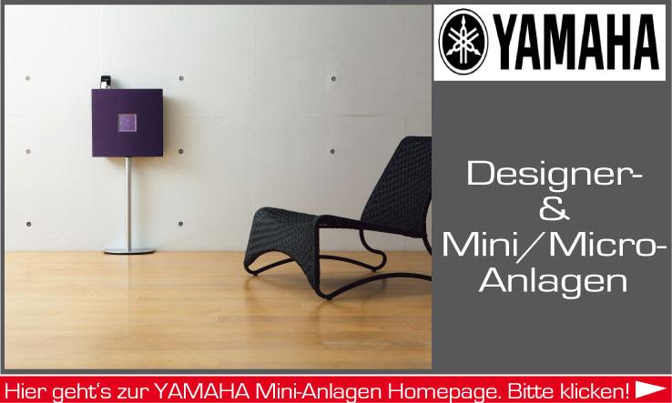 Mini-Anlagen der Firma Yamaha
