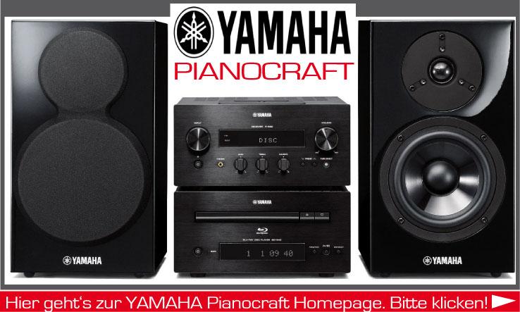 Mini-Anlagen der Yamaha PianoCraft Serie