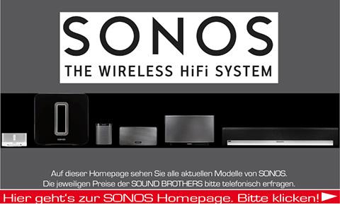 Produkte der Firma Sonos