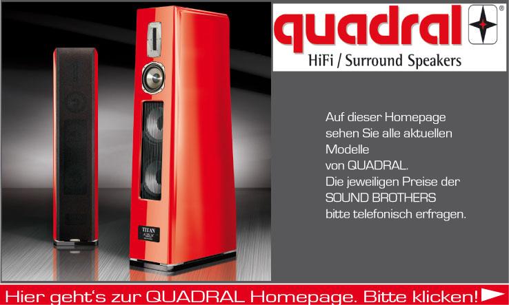 Lautsprecher der Firma Quadral