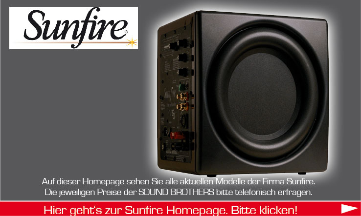 Lautsprecher der Firma Sunfire