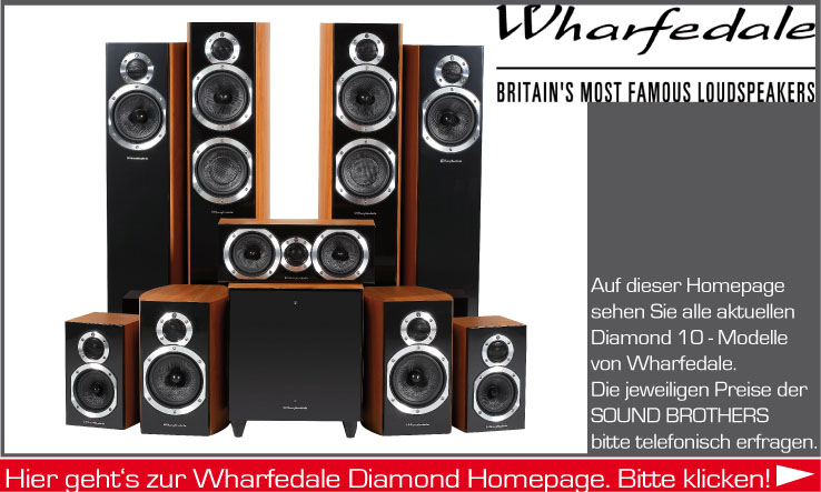 Lautsprecher der Firma Wharfedale