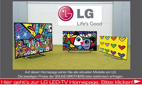 Plasma-TVs der Firma LG