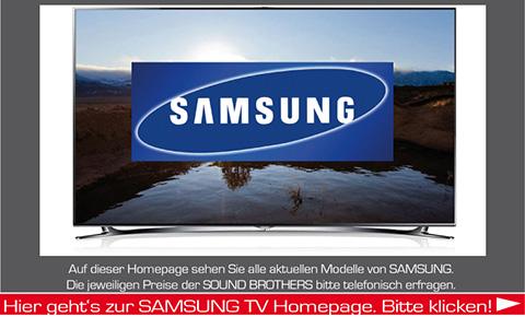LED-TVs der Firma Samsung